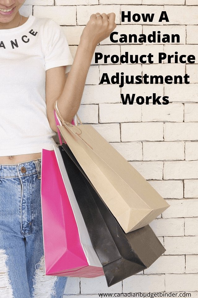 How A Canadian Product Price Adjustment Works