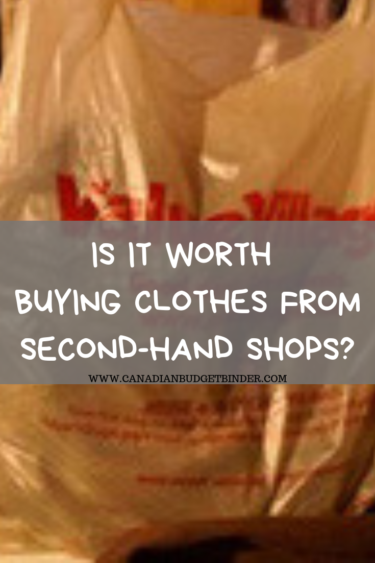 Are Second Hand Shops Worth Buying Clothes At?