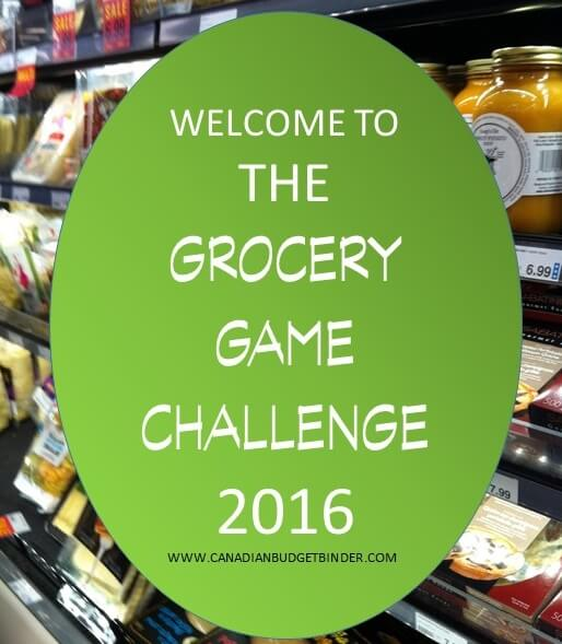 THE GROCERY GAME CHALLENGE 2016 CANADIAN BUDGET BINDER(1