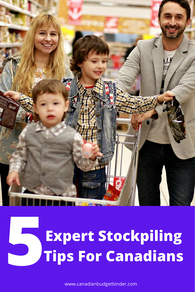 5 Canadian Stockpiling Tips To Help Save You Money