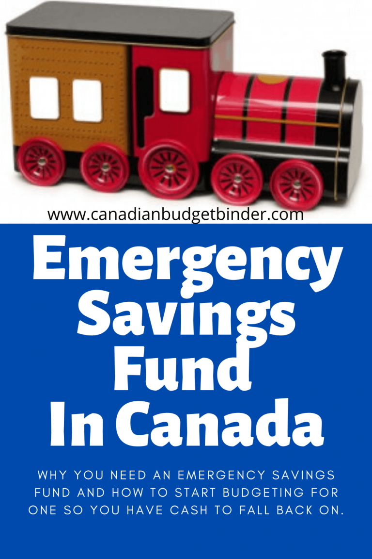 Emergency Savings Fund in Canada- How Much, Why?