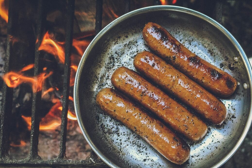 Spicy Italian Sausage Cooked