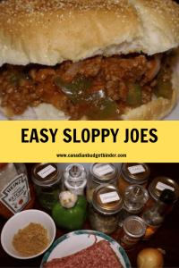 sloppy joes recipe