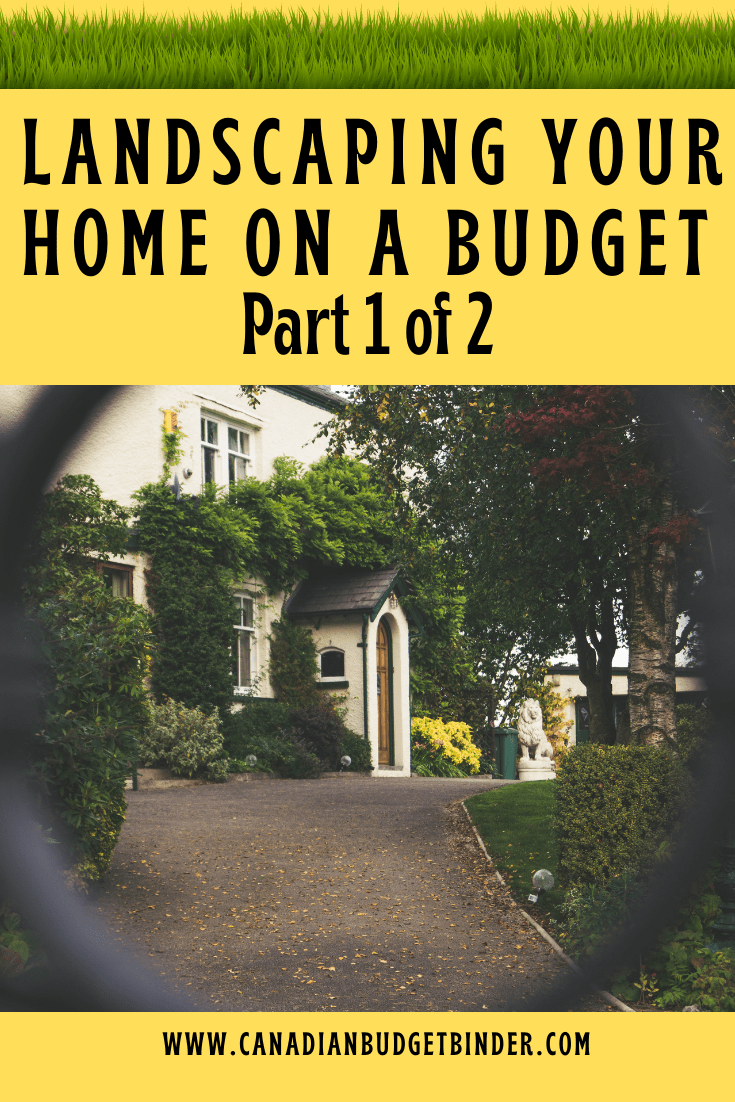 Landscaping Your Home On A Budget Part 1