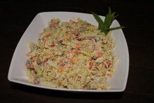 Cold Tuna Pasta Salad