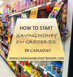 HOW TO START SAVING MONEY ON GROCERIES IN CANADA(1)