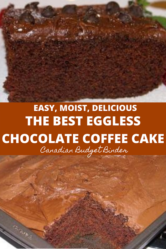 The Best Eggless Chocolate Cake