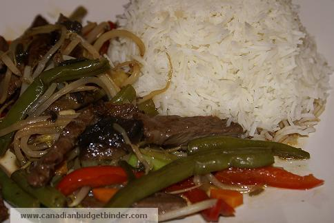 Mr.CBB's Easy Beef Vegetable Stir Fry with Rice