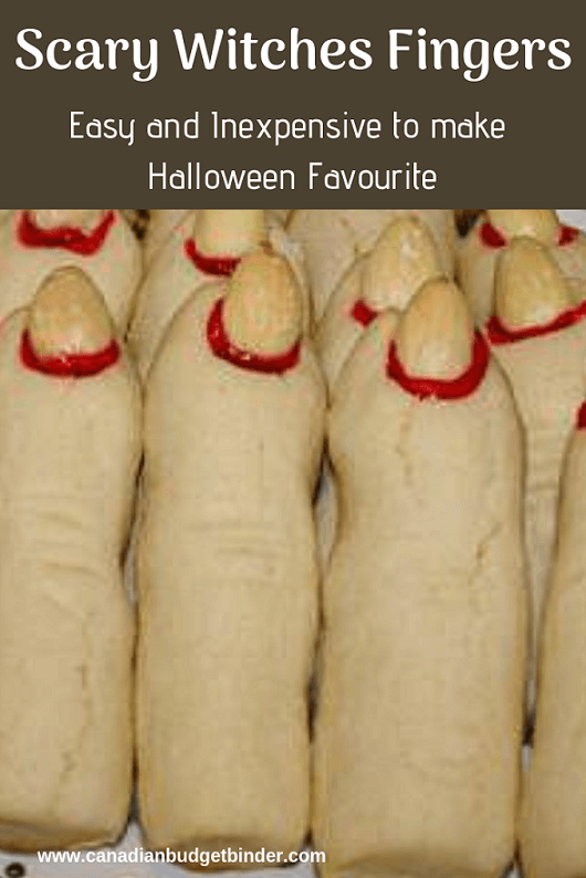 Scary Witches Fingers