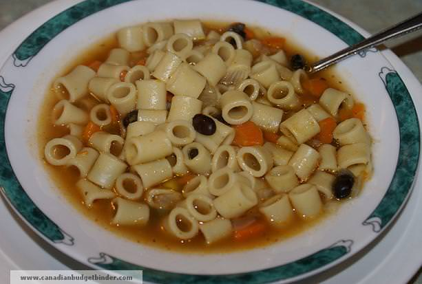 Mr.CBB's Tomato Minestrone Soup Recipe