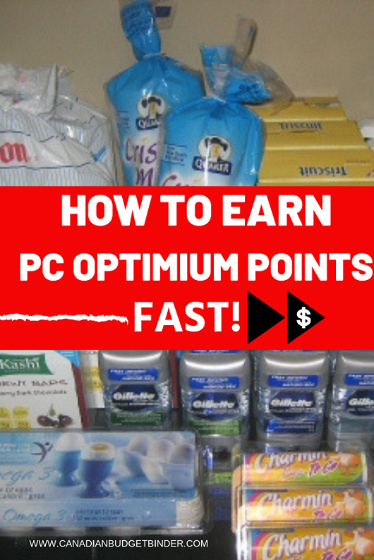 How to Earn PC Optimum Points Fast at SDM