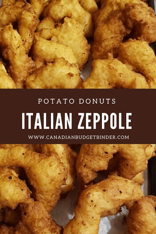 Plain Zeppole Donuts