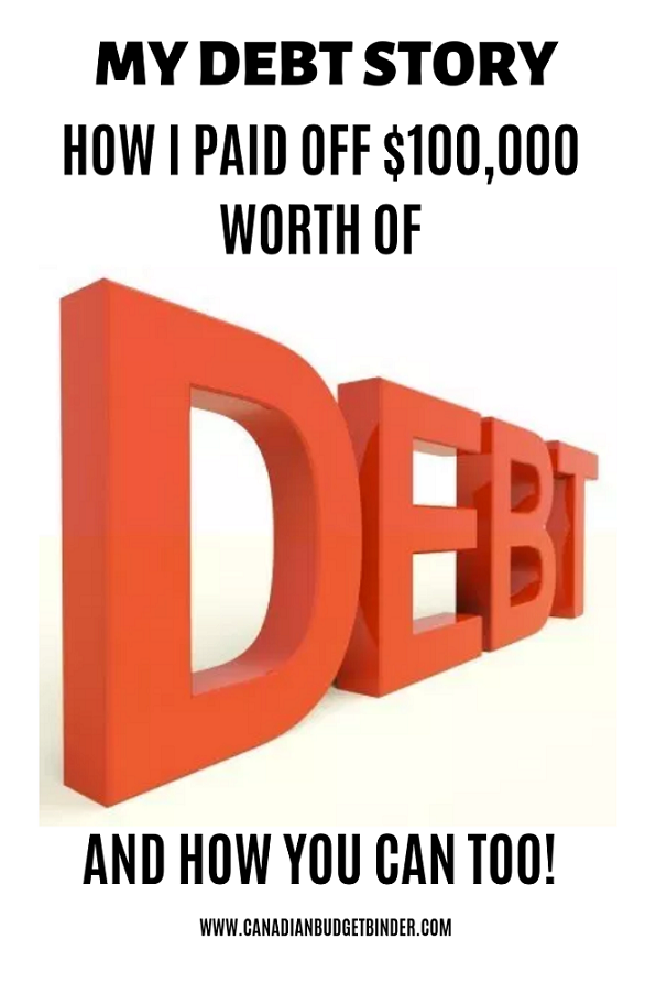 My Debt Story: How I Paid Off $100,000 In Debt (And How You Can Too)