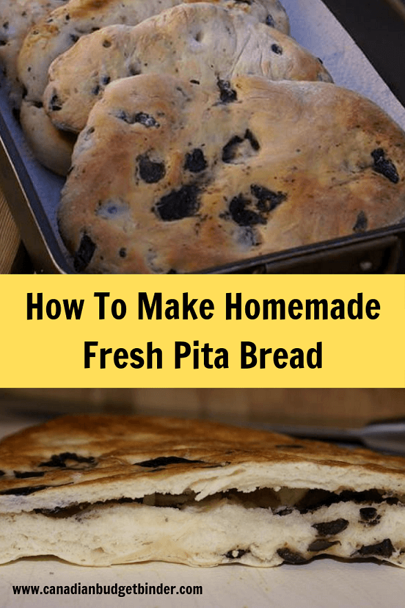 pita bread fresh