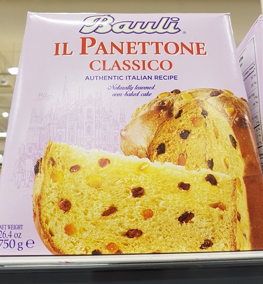 Bauli Italian Panettone Cake