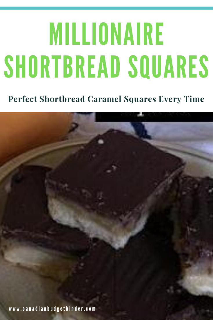 Traditional Millionaire Shortbread Squares