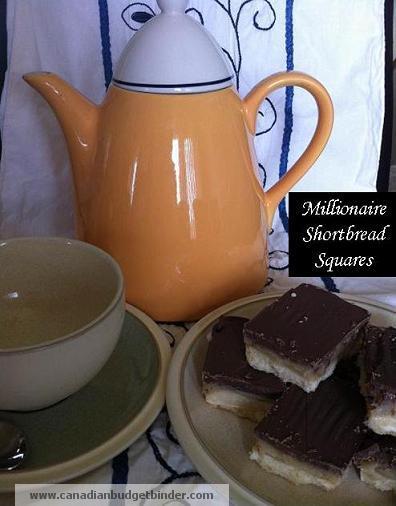 Millionaire Shortbread Squares