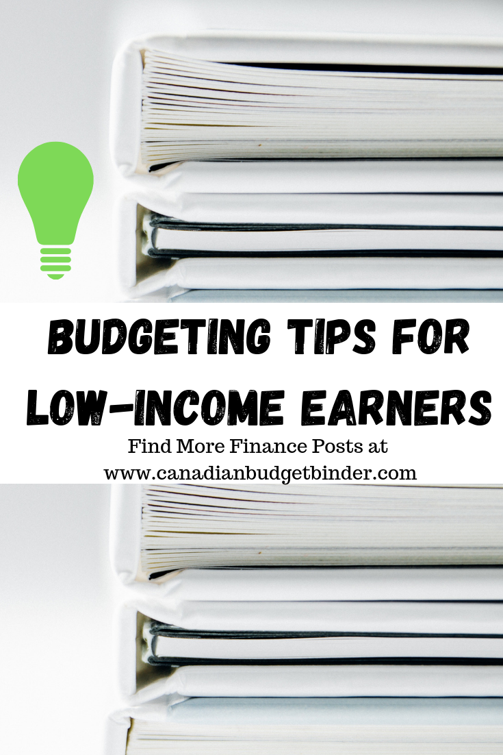 budgeting tips low-income