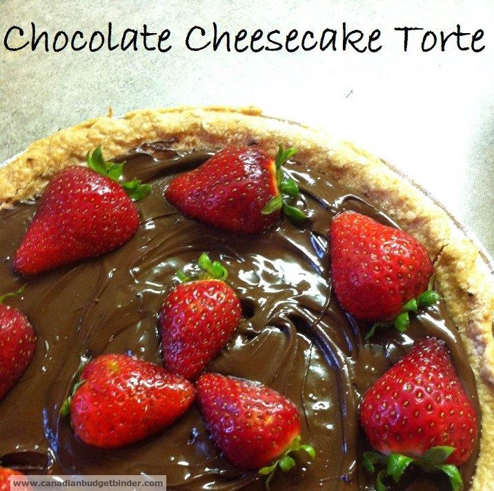 Chocolate Cheesecake Torte