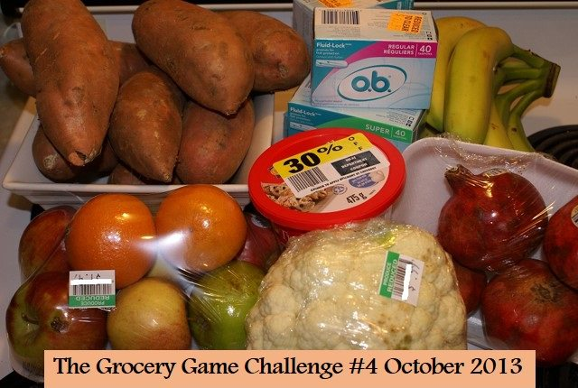 grocery shop 4 October
