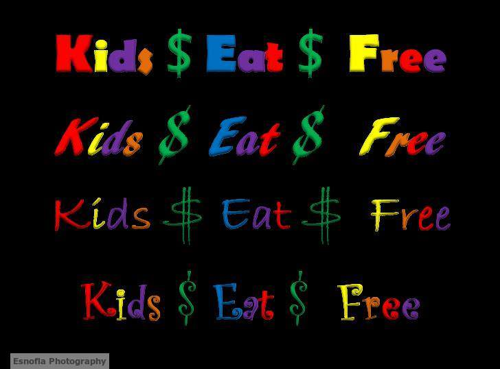Kids Eat Free- Is it a restaurant lure to eat out targeting parents?