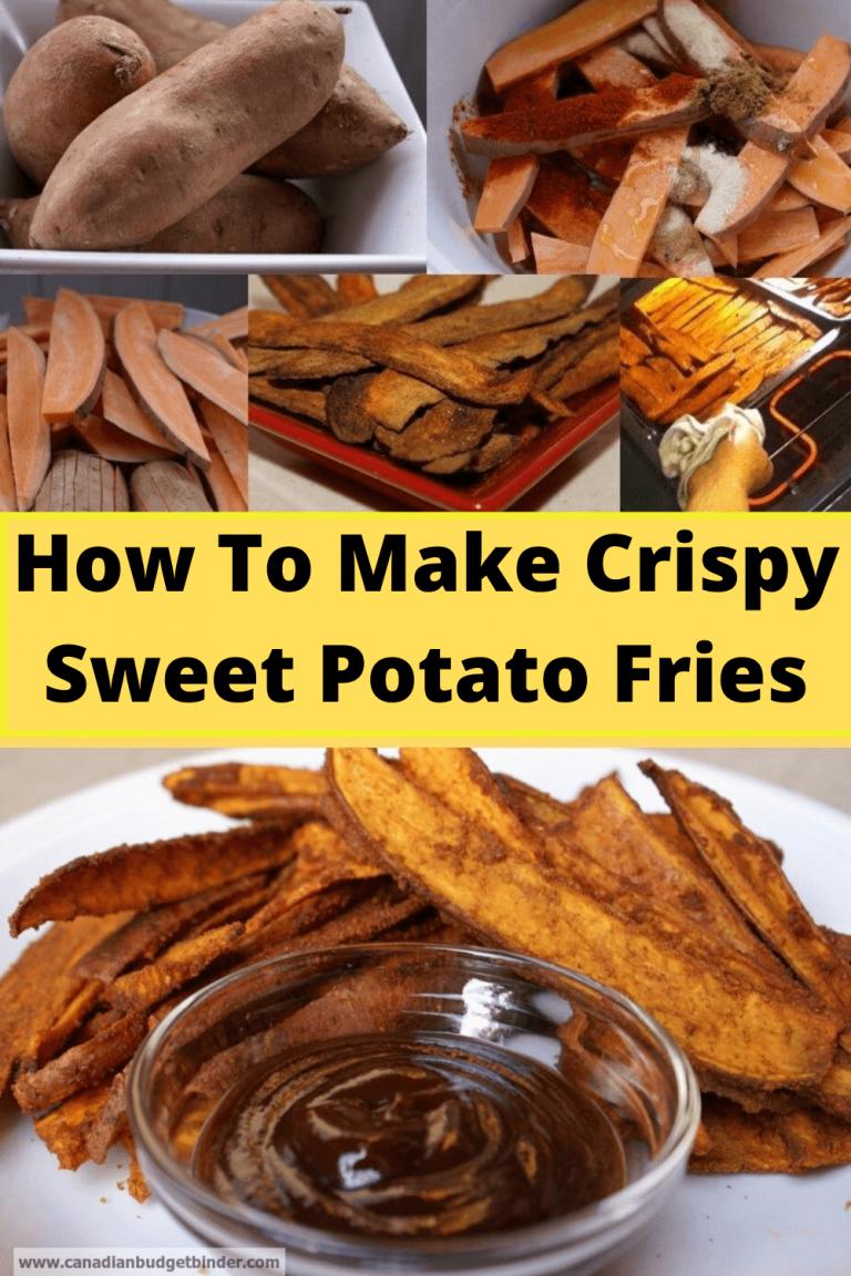 The Best Baked Crispy Sweet Potato Fries