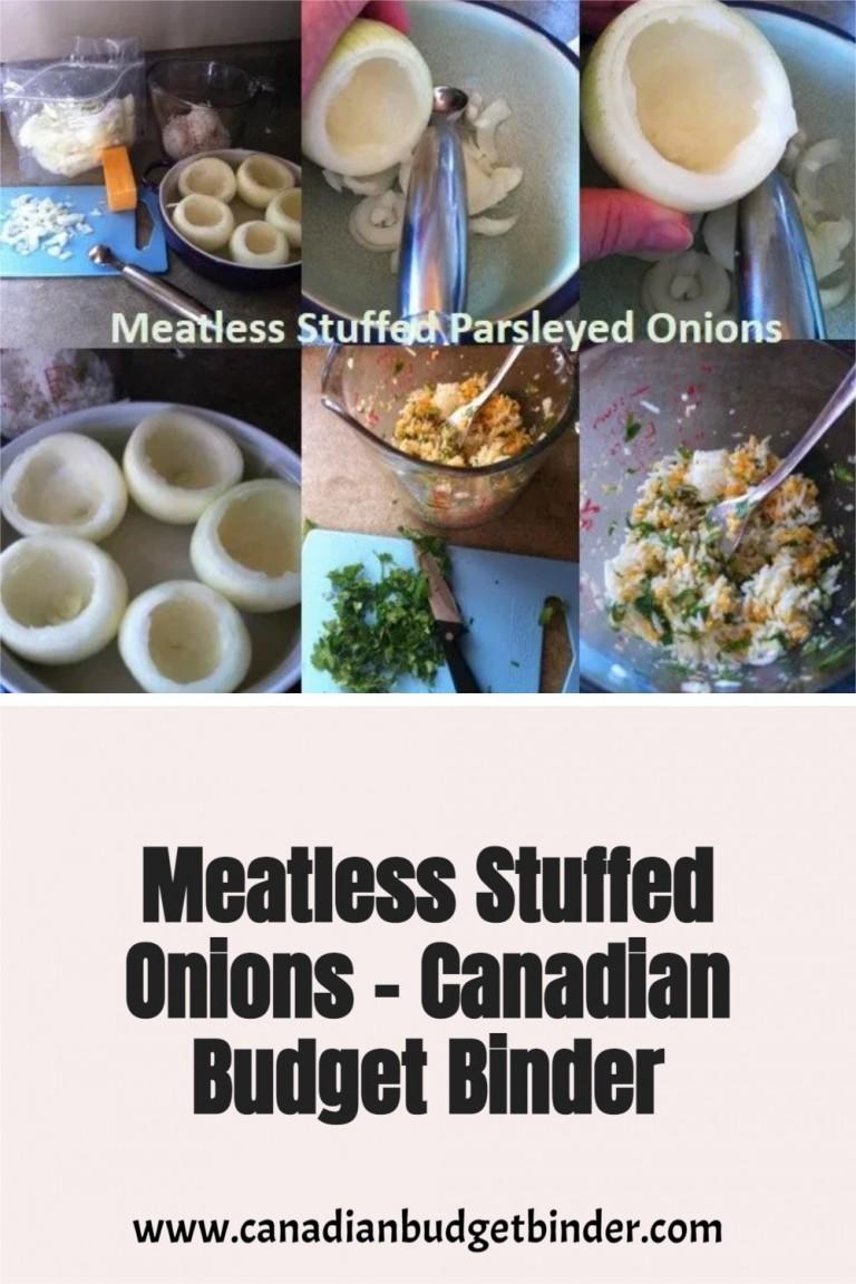 Meatless Stuffed Onions