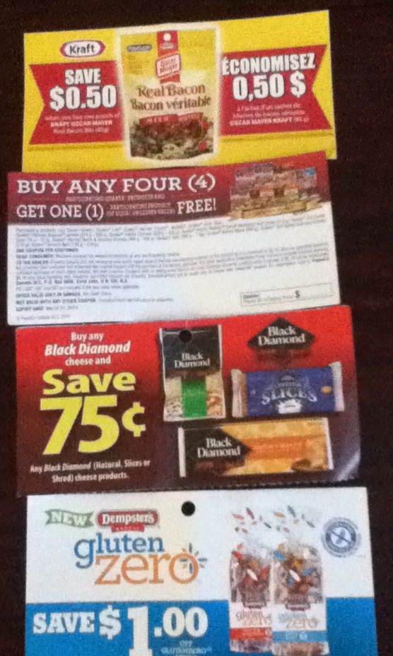 Canadian Coupons
