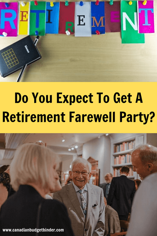 Retirement Farewell Party