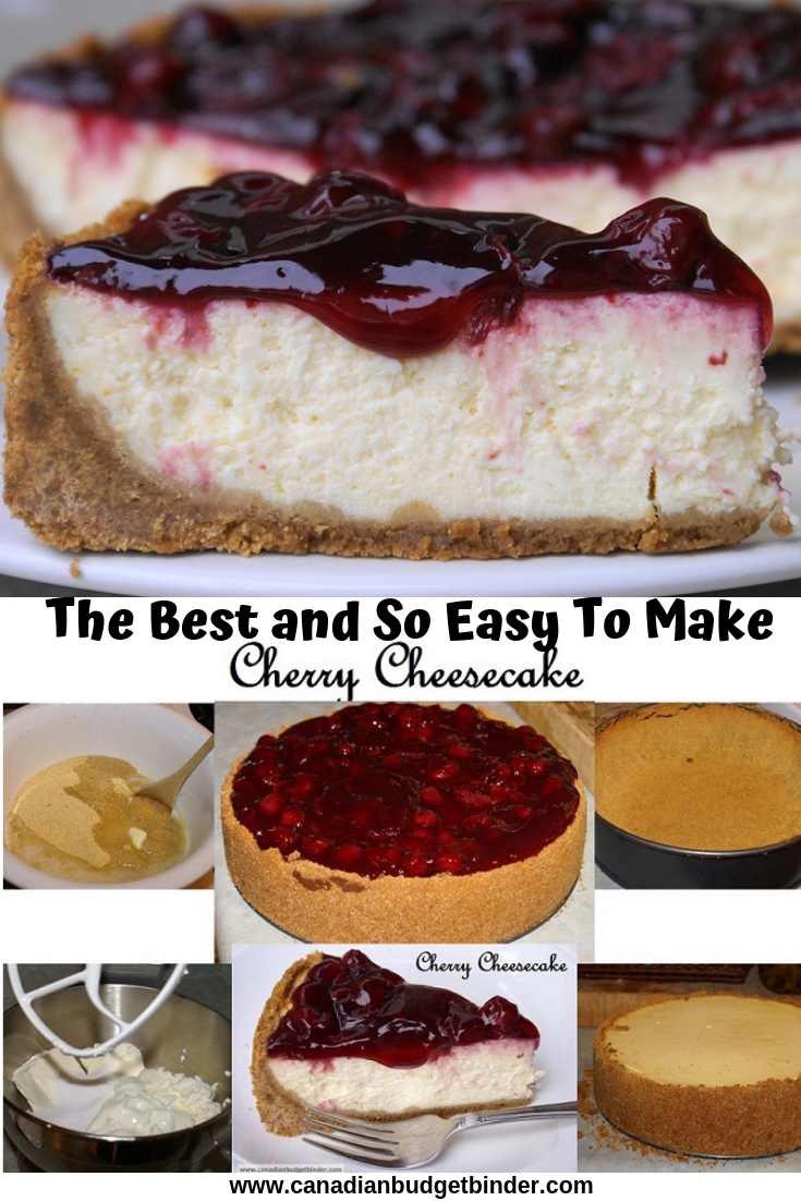 The Best and so easy Cherry Cheesecake recipe