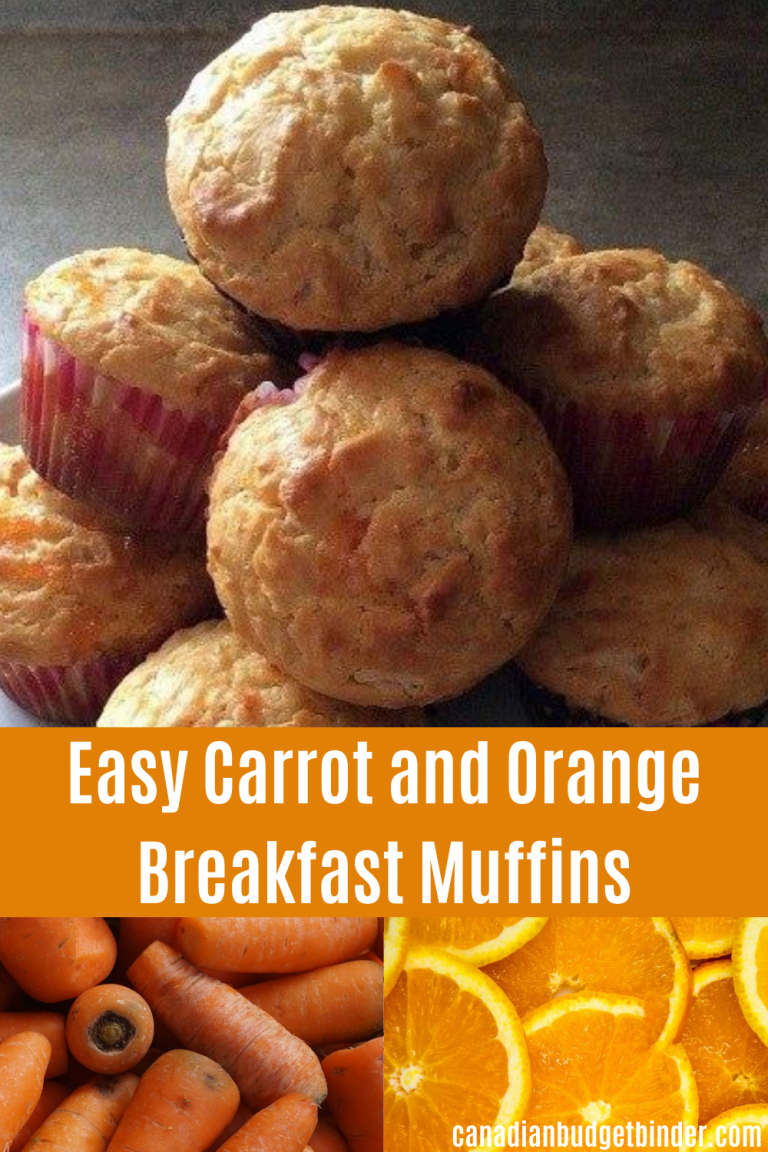 Easy Orange And Carrot Breakfast Muffins