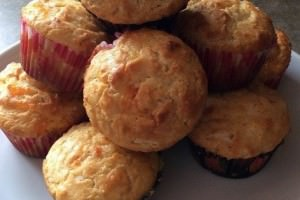 Orange marmalade breakfast muffins