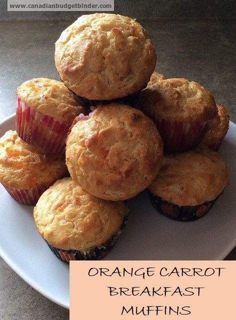 Orange Breakfast Muffins Recipe — Dishmaps