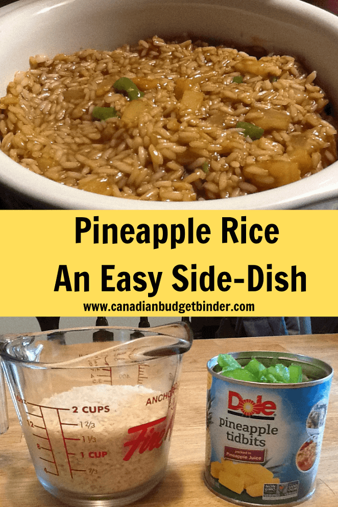 Pineapple Rice An Easy Side-Dish