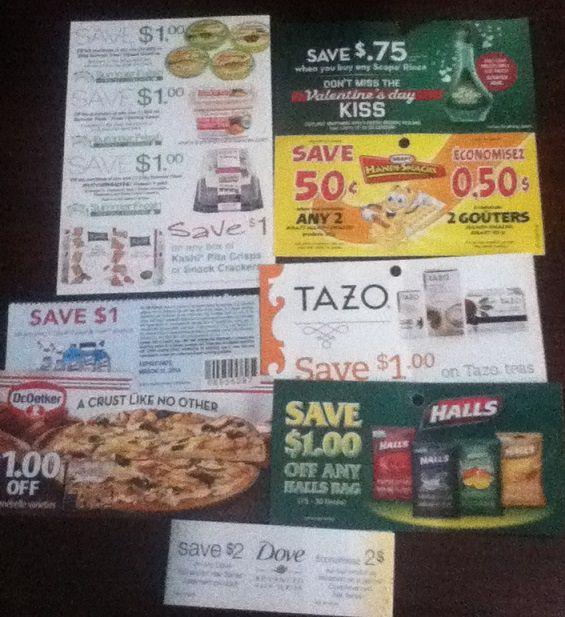 coupons Feb 2014