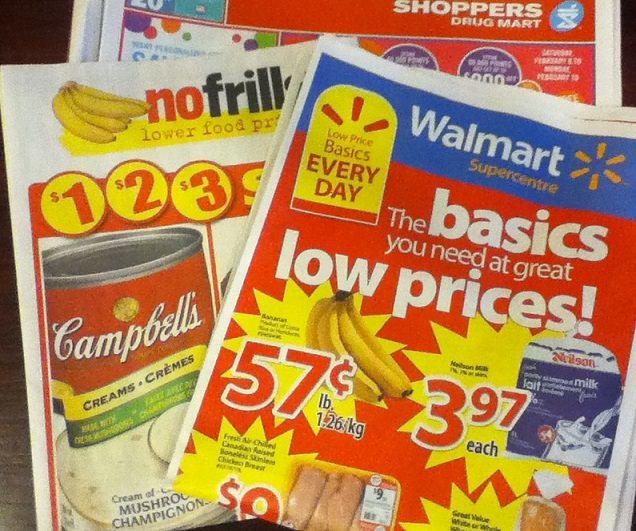 flyer sales Canada