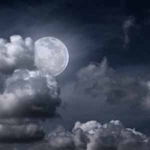 A full moon surrounds our finances