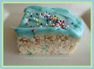 confetti cookie bars
