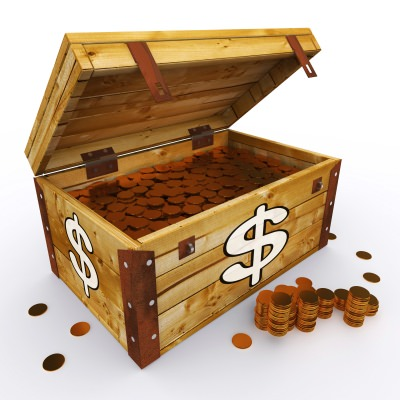 The money-box inspired my passion for finance