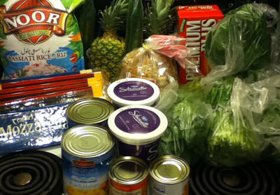 Why you should always look at a new product display : The Grocery game challenge #2 Apr 7-Apr 13, 2014