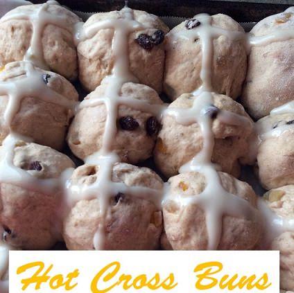 Sweet Hot Cross Buns