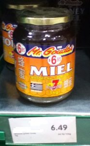 pre-priced products Mr. Goudas honey miel