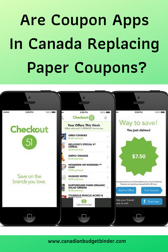 Are coupon apps replacing paper coupons?