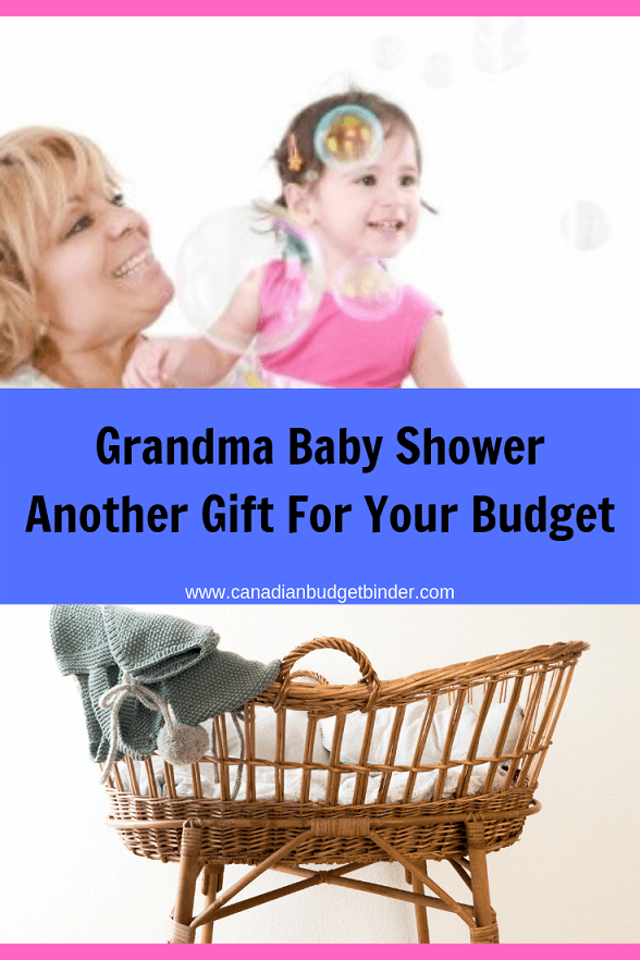 Grandma Baby Shower Another Gift For Your Budget