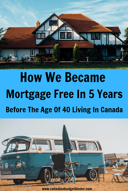 How We Became Mortgage Free In Five Years