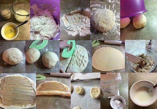 how to make cinnamon  buns