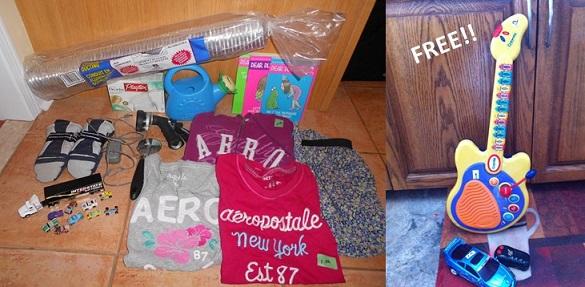 Garage sale finds Jen Canadian Budget Binder 2014
