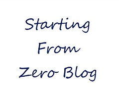 Starting From Zero Blog Profile Pic