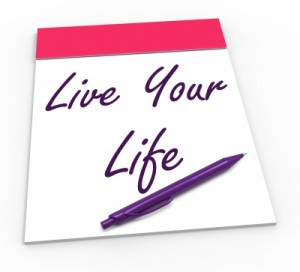 live your life financial fears