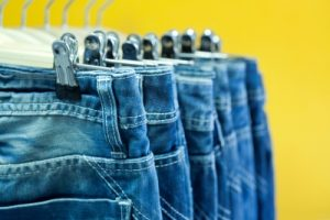 Fashion jeans budget clothing